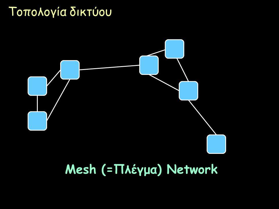 Mesh (=Πλέγμα) Network