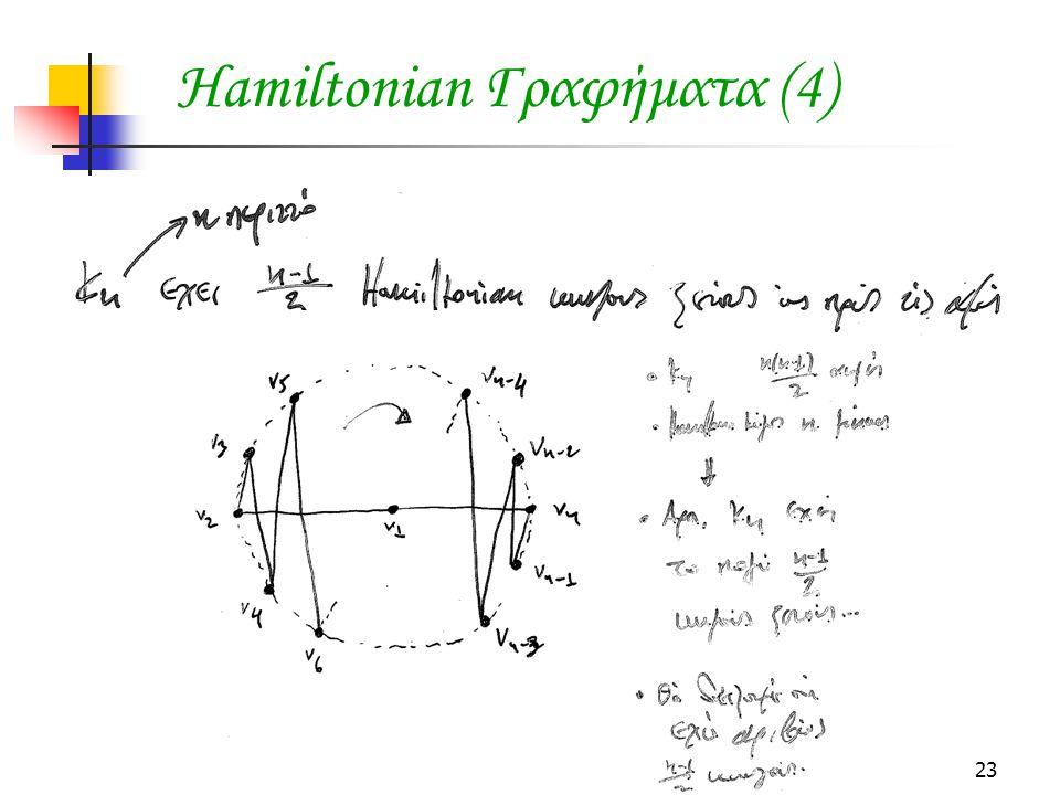 Hamiltonian Γραφήματα (4)