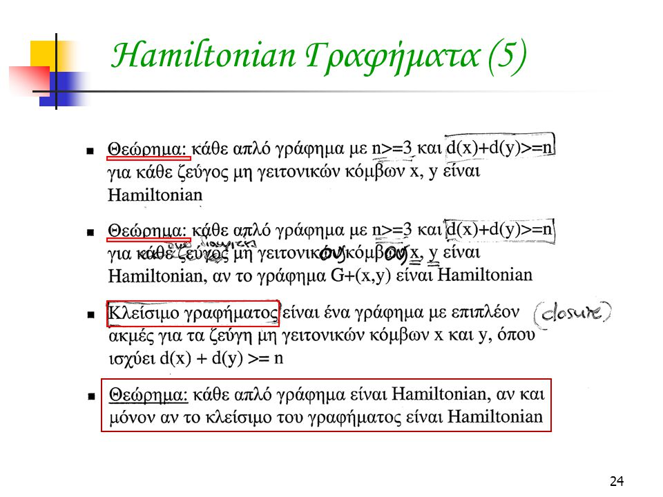 Hamiltonian Γραφήματα (5)
