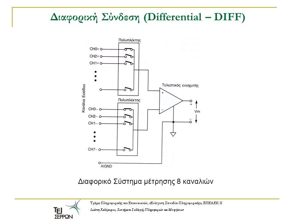 Διαφορική Σύνδεση (Differential – DIFF)