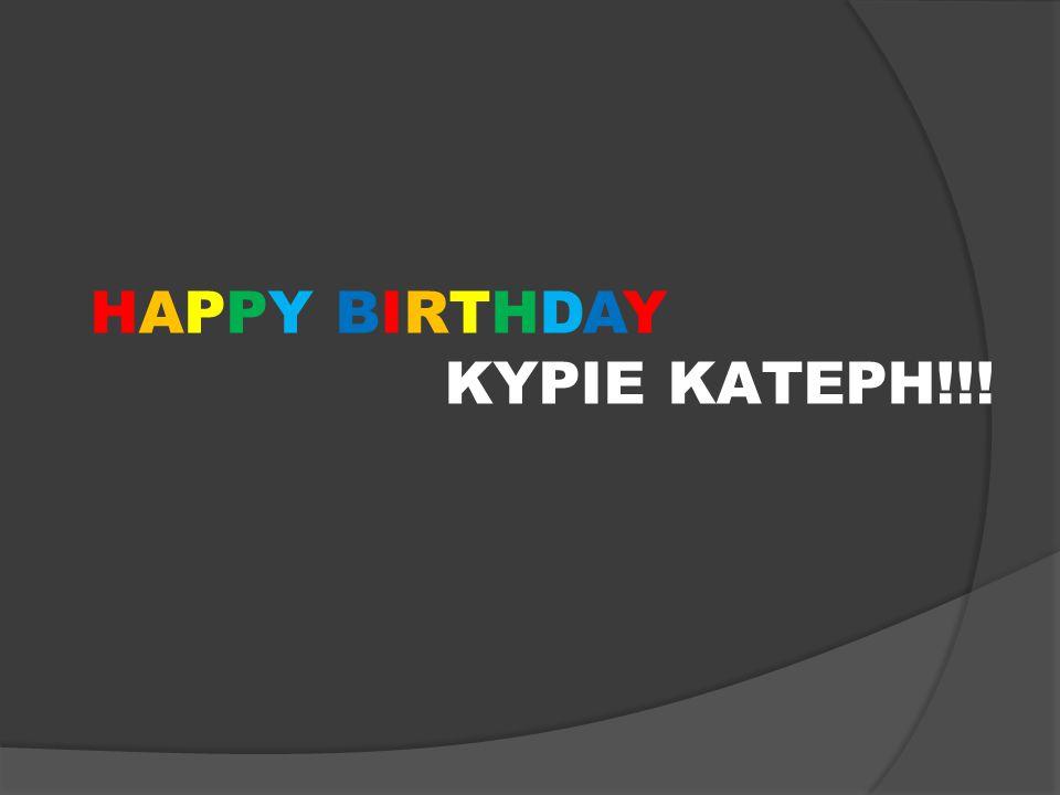 HAPPY BIRTHDAY ΚΥΡΙΕ ΚΑΤΕΡΗ!!!