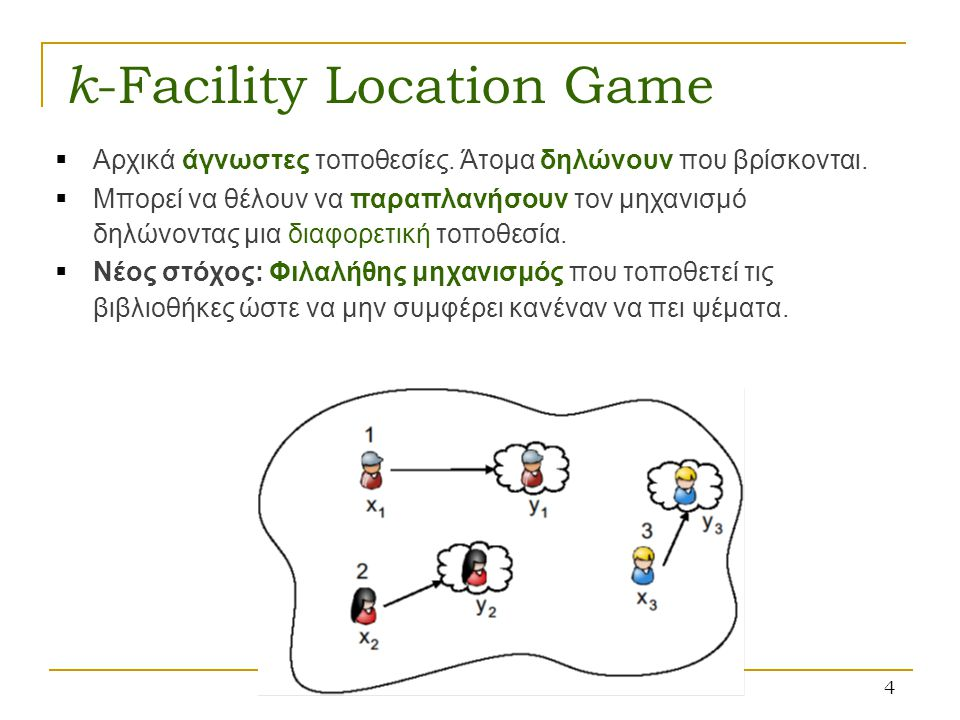 k-Facility Location Game