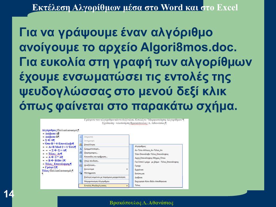 Βρακόπουλος Λ. Αθανάσιος