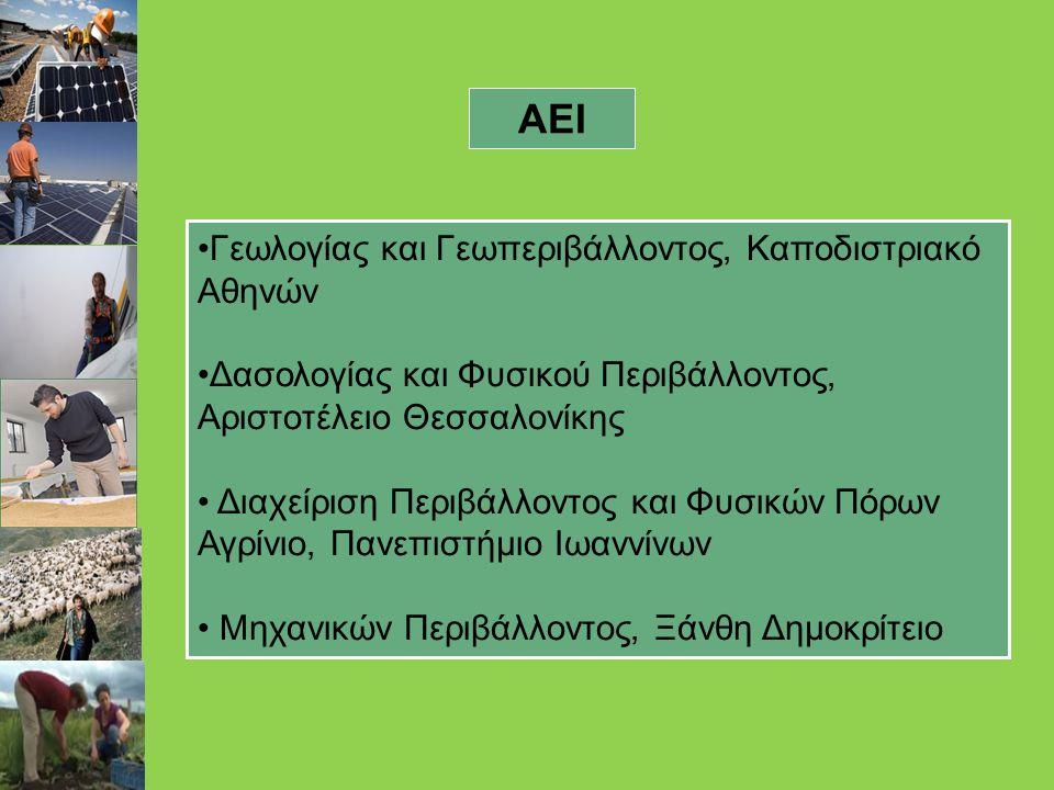ΑΕΙ Γεωλογίας και Γεωπεριβάλλοντος, Καποδιστριακό Αθηνών
