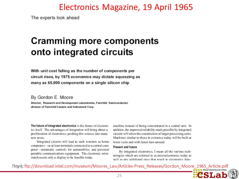 Electronics Magazine, 19 April 1965