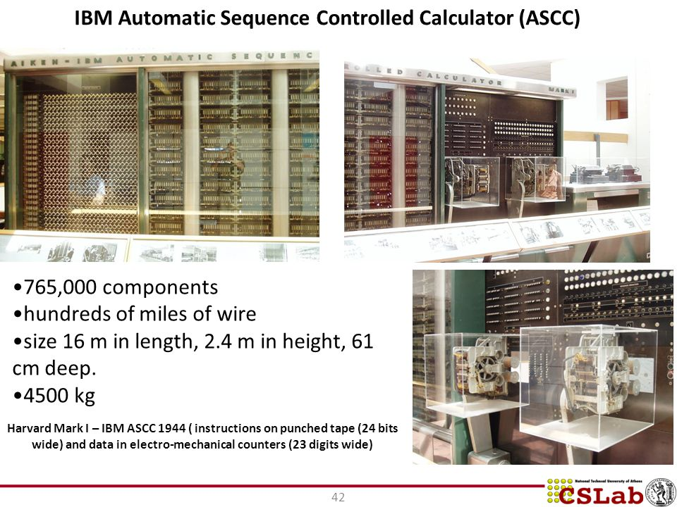 IBM Automatic Sequence Controlled Calculator (ASCC)