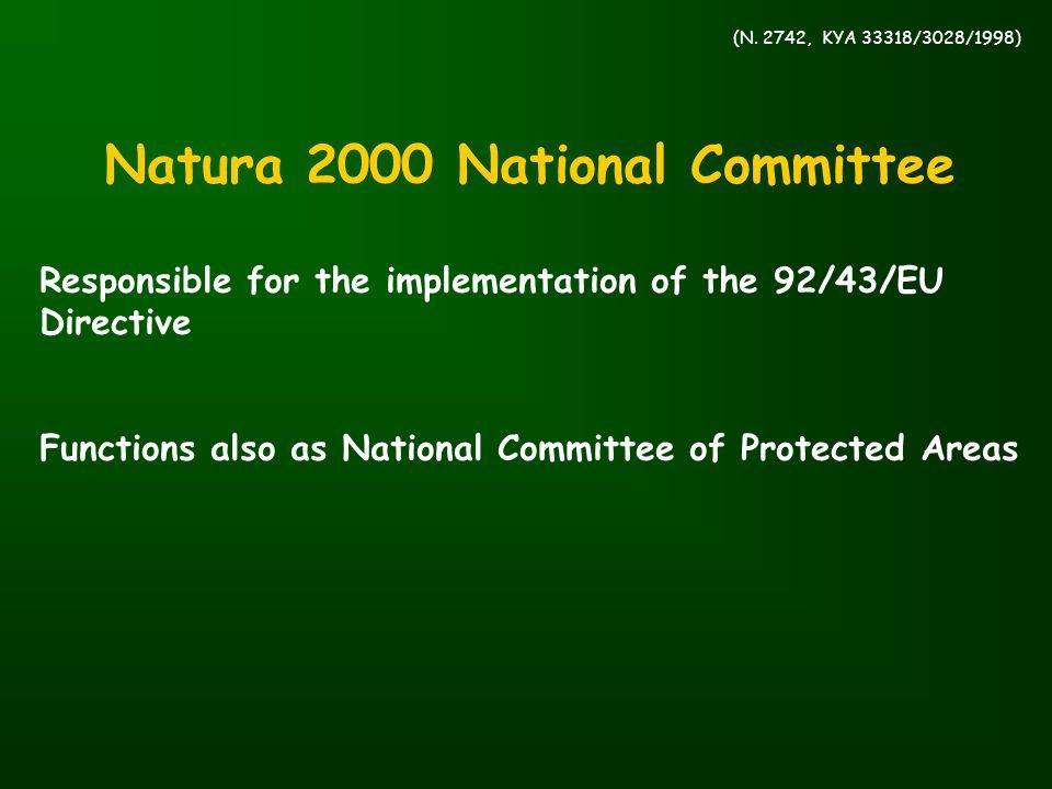 Natura 2000 National Committee