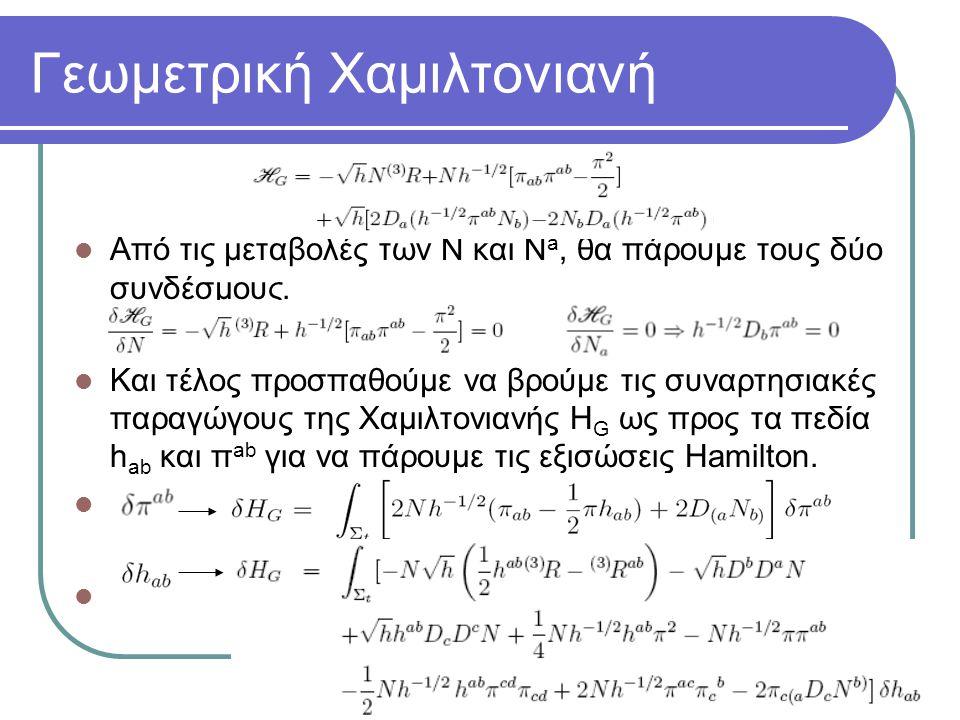 Γεωμετρική Χαμιλτονιανή