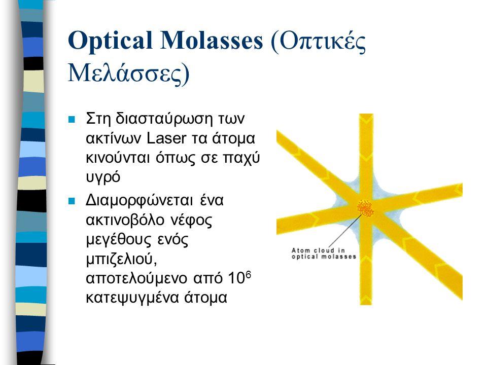Optical Molasses (Οπτικές Μελάσσες)