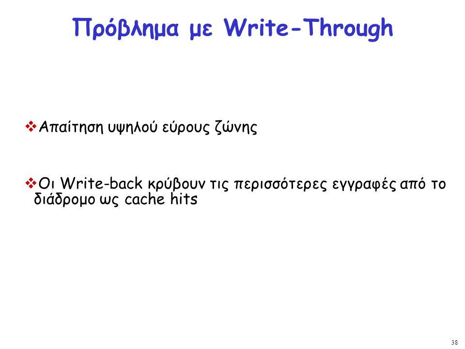 Πρόβλημα με Write-Through