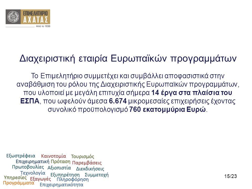 Διαχειριστική εταιρία Ευρωπαϊκών προγραμμάτων