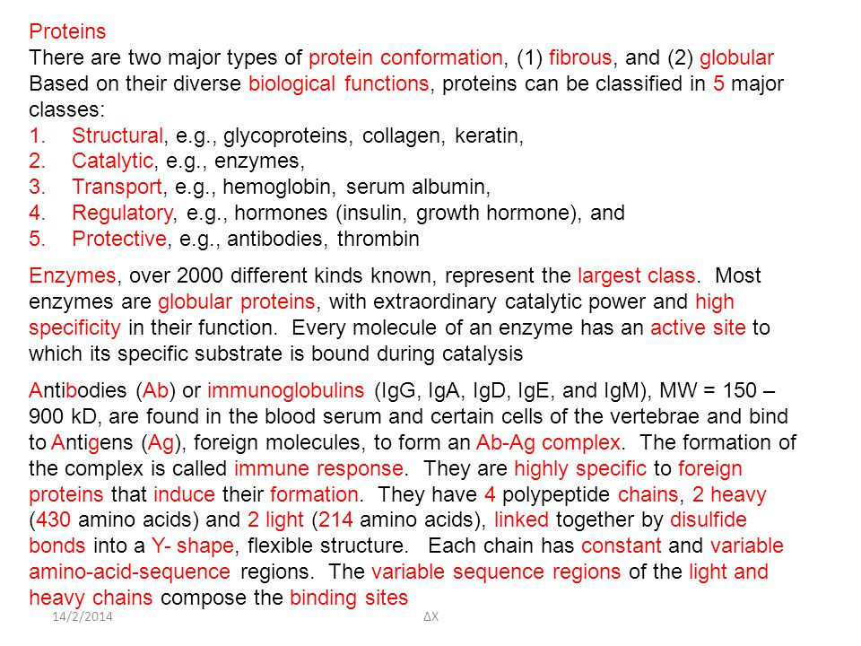 Structural, e.g., glycoproteins, collagen, keratin,