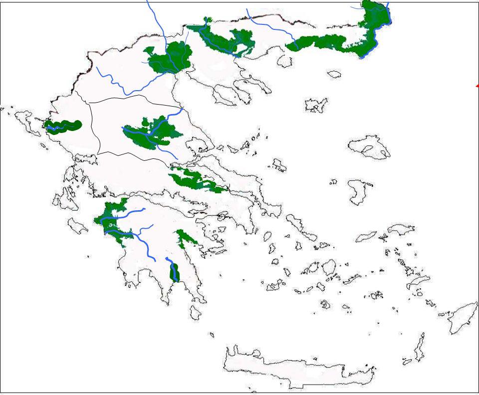 Κοιλάδα Καλαμά Κοιλάδα Πηνειού Κοιλάδα Αλφειού Κοιλάδα Ευρώτα