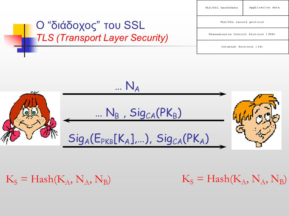 O διάδοχος του SSL TLS (Transport Layer Security)