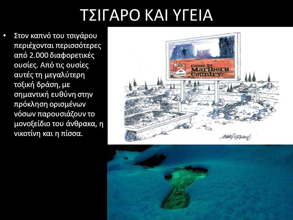 ΤΣΙΓΑΡΟ ΚΑΙ ΥΓΕΙΑ