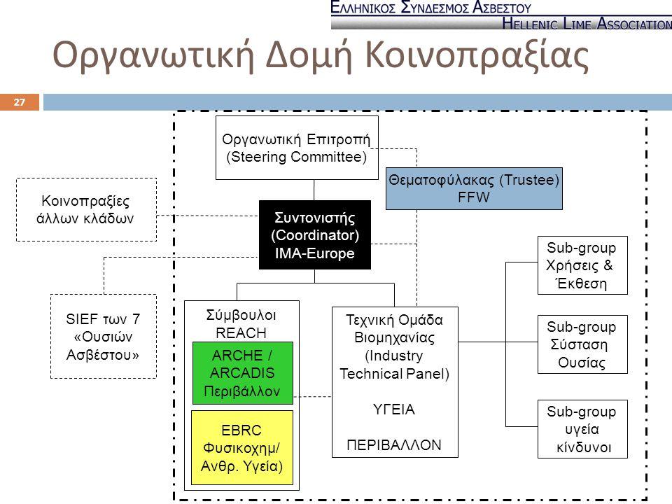 Οργανωτική Δομή Κοινοπραξίας