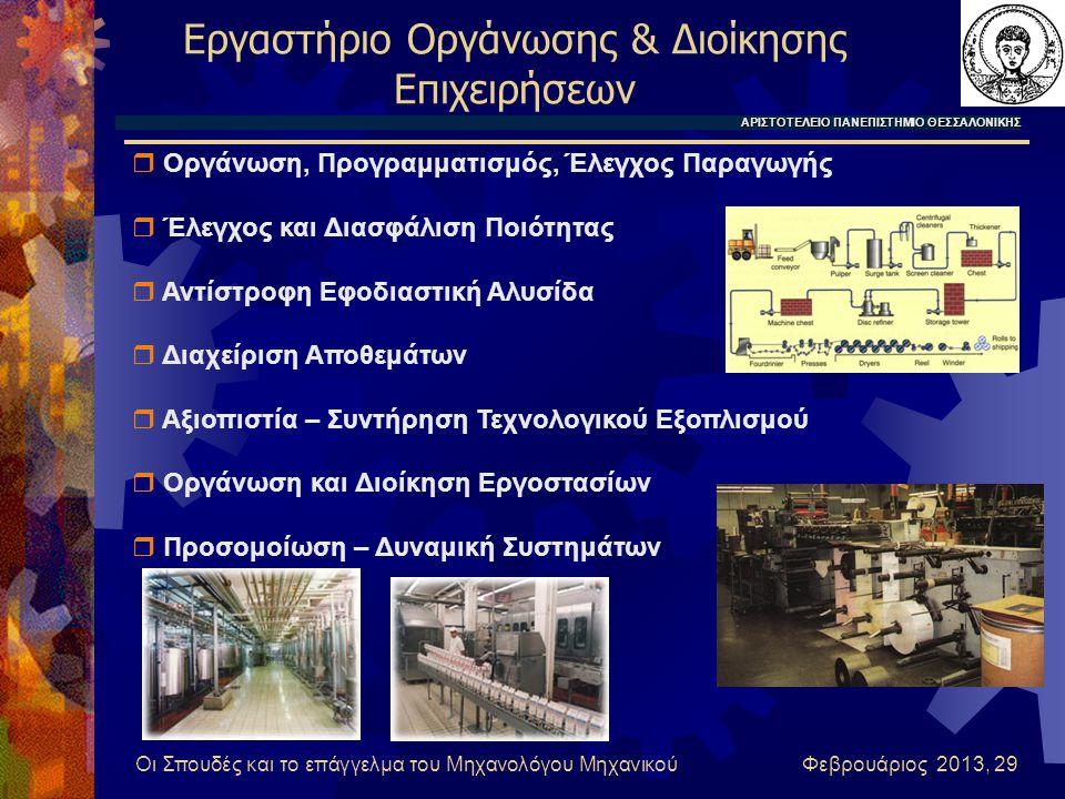 Εργαστήριο Οργάνωσης & Διοίκησης Επιχειρήσεων