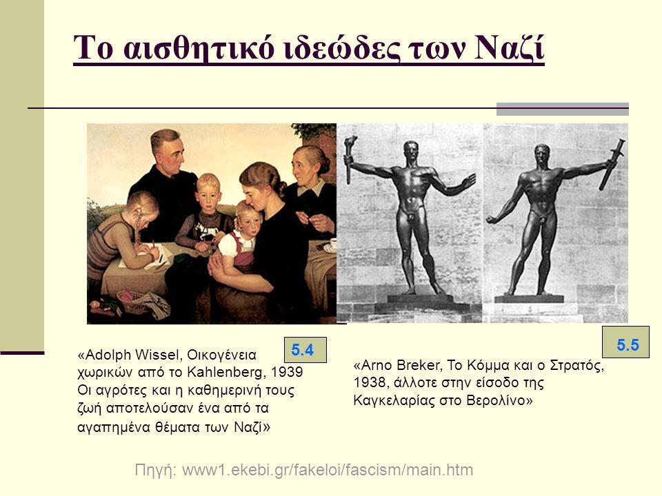 Το αισθητικό ιδεώδες των Ναζί