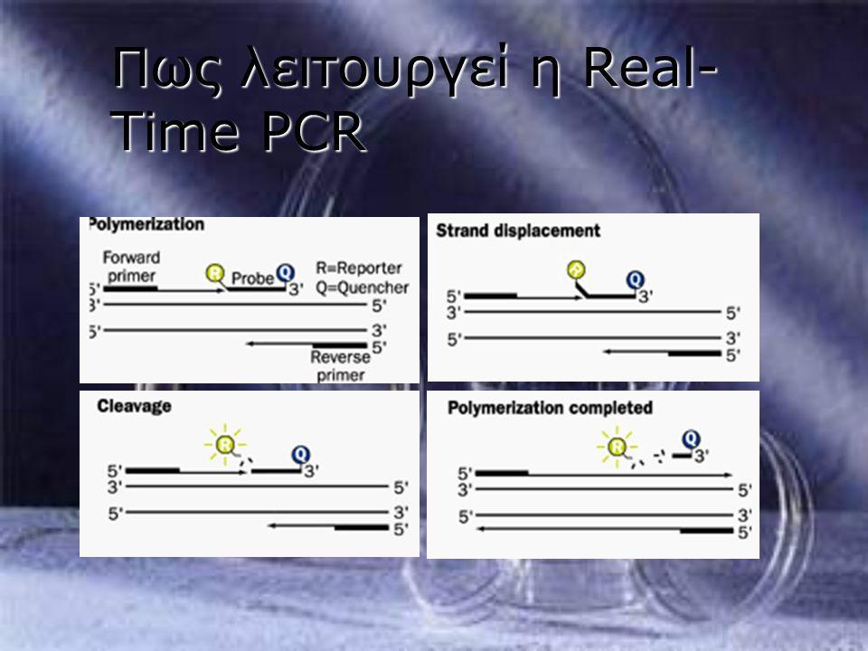 Πως λειτουργεί η Real-Time PCR