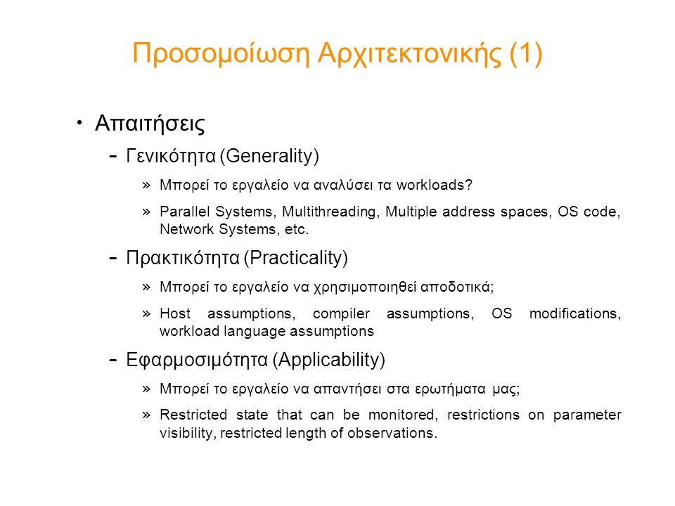 Προσομοίωση Αρχιτεκτονικής (1)