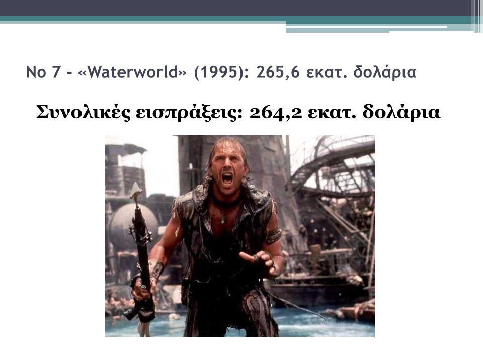 Νο 7 - «Waterworld» (1995): 265,6 εκατ. δολάρια