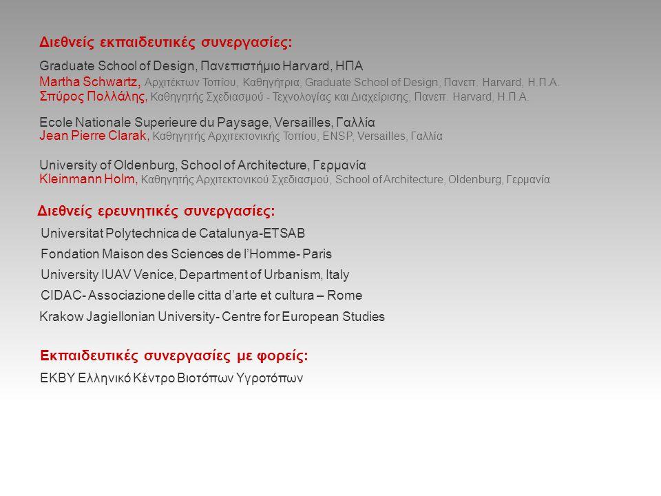Διεθνείς εκπαιδευτικές συνεργασίες: