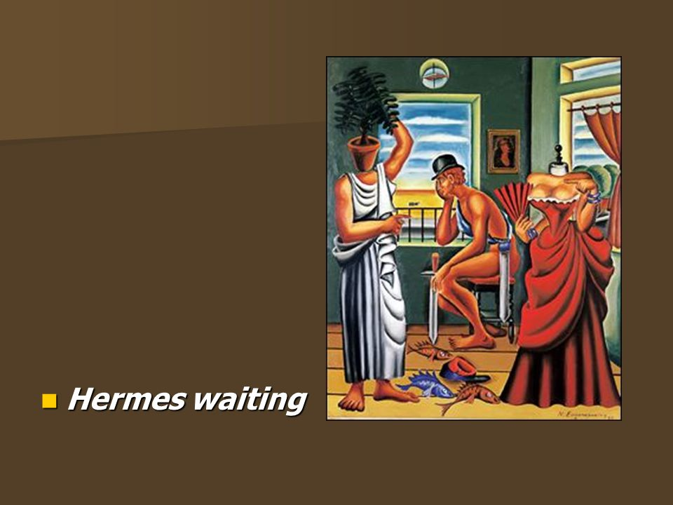 Hermes waiting