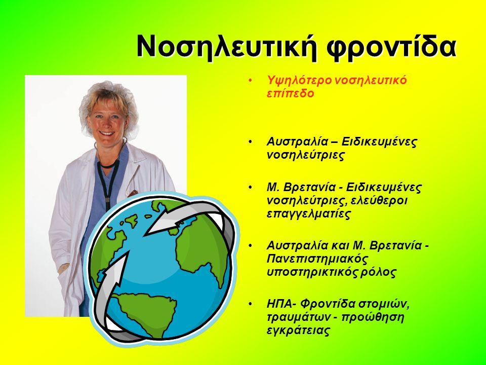 Νοσηλευτική φροντίδα Υψηλότερο νοσηλευτικό επίπεδο
