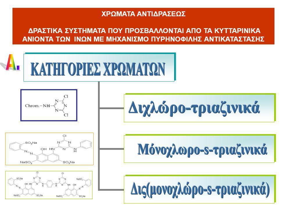 Μόνοχλωρο-s-τριαζινικά Δις(μονοχλώρο-s-τριαζινικά)