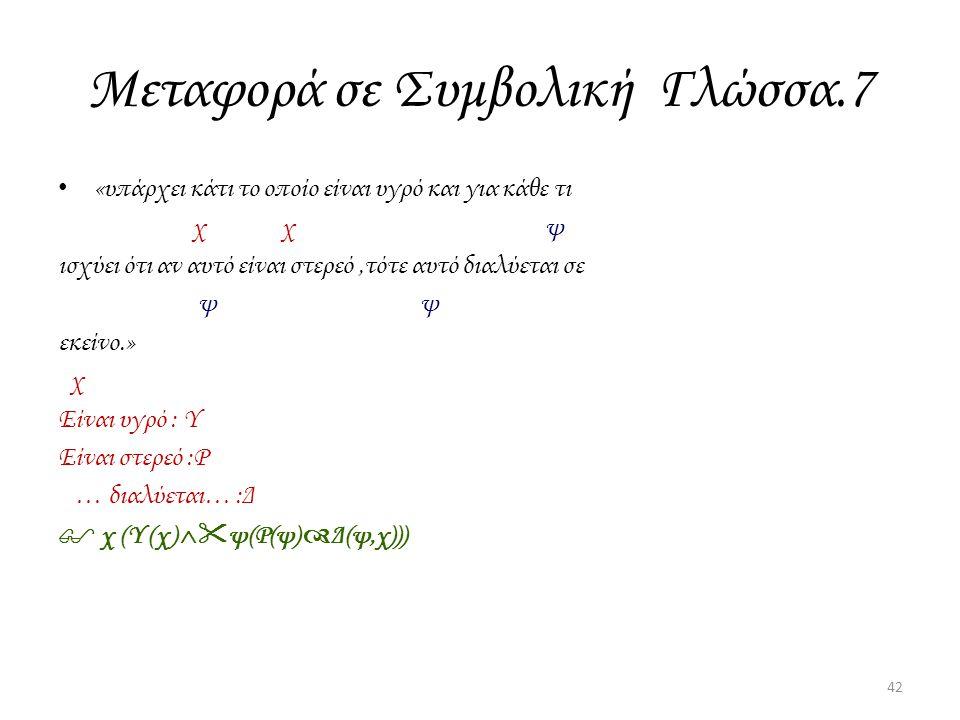 Μεταφορά σε Συμβολική Γλώσσα.7