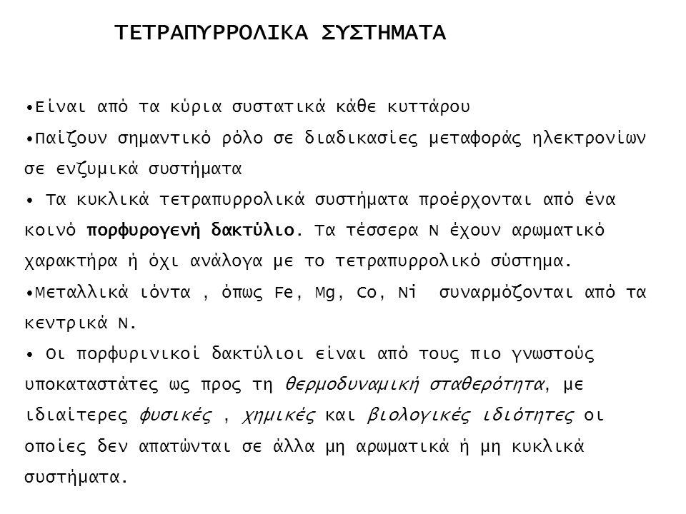 ΤΕΤΡΑΠΥΡΡΟΛΙΚΑ ΣΥΣΤΗΜΑΤΑ