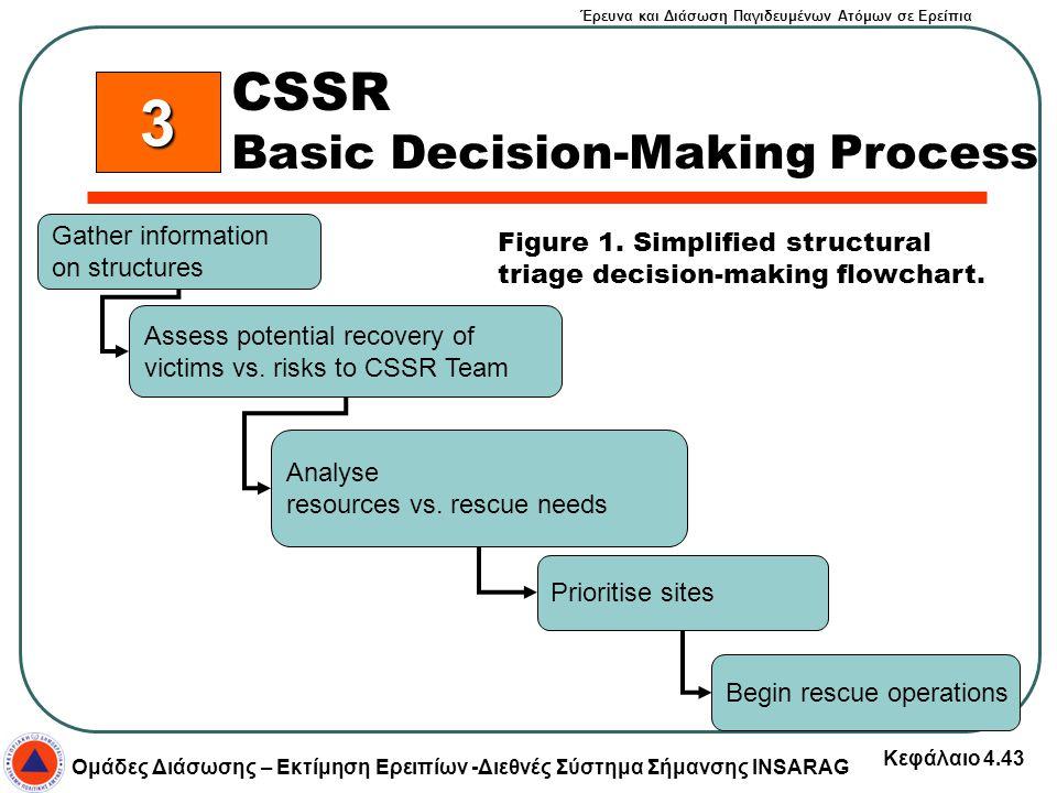 3 CSSR Basic Decision-Making Process Gather information