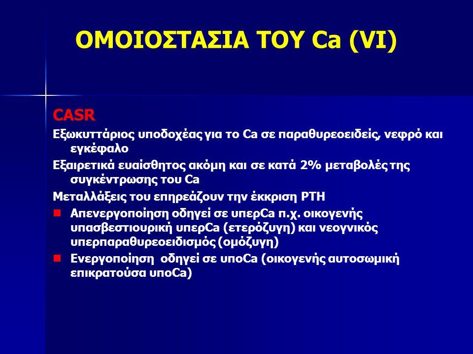 ΟΜΟΙΟΣΤΑΣΙΑ ΤΟΥ Ca (VI)