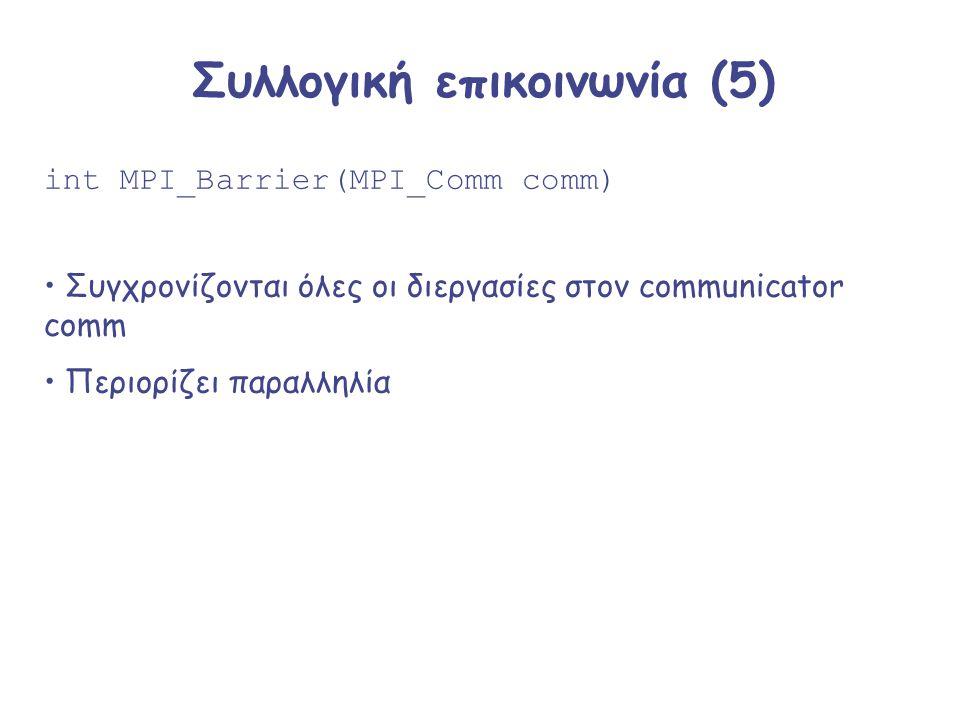 Συλλογική επικοινωνία (5)