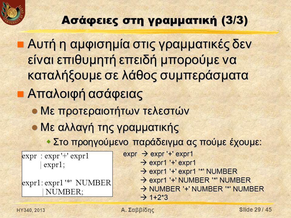 Ασάφειες στη γραμματική (3/3)