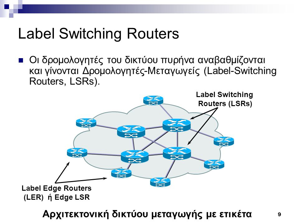 Label Switching Routers