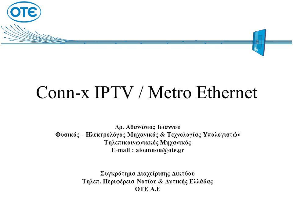 Conn-x IPTV / Metro Ethernet