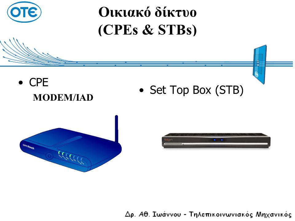 Οικιακό δίκτυο (CPEs & STBs)