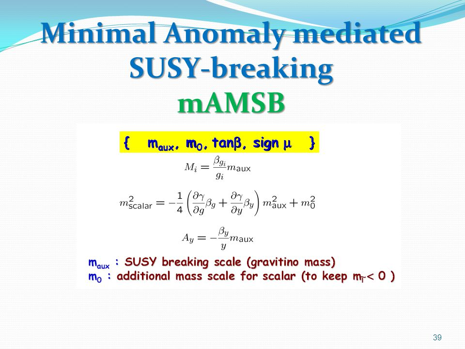 Minimal Anomaly mediated SUSY-breaking mAMSB