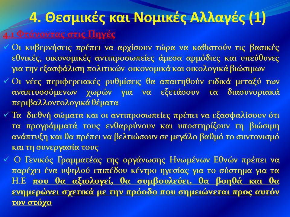4. Θεσμικές και Νομικές Αλλαγές (1)
