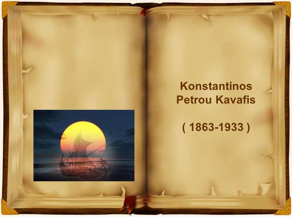 Konstantinos Petrou Kavafis