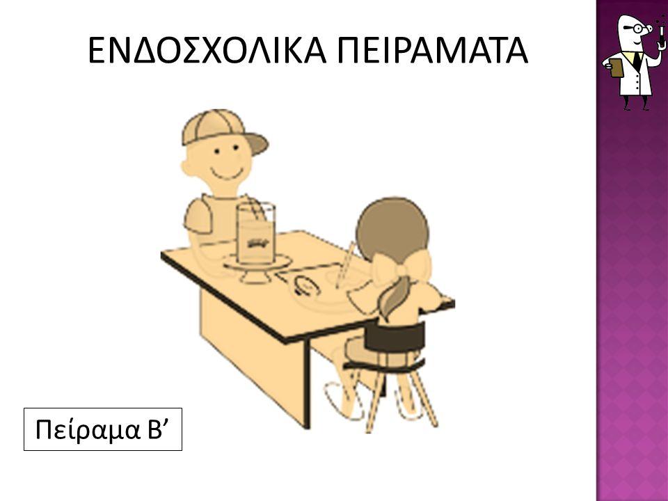 ΕΝΔΟΣΧΟΛΙΚΑ ΠΕΙΡΑΜΑΤΑ