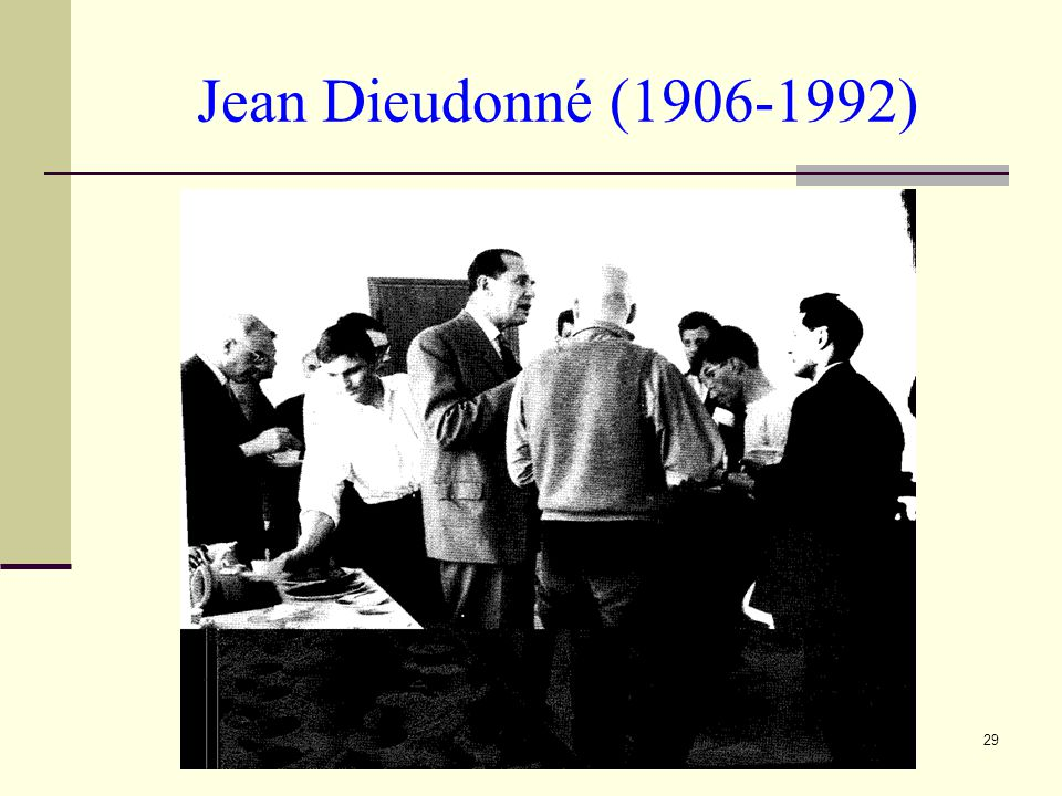 Jean Dieudonné (1906-1992)