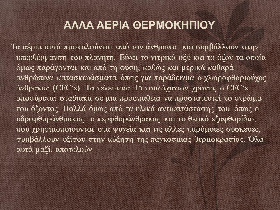 ΑΛΛΑ ΑΕΡΙΑ ΘΕΡΜΟΚΗΠΙΟΥ