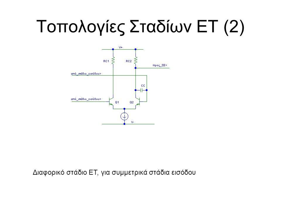 Τοπολογίες Σταδίων ΕΤ (2)