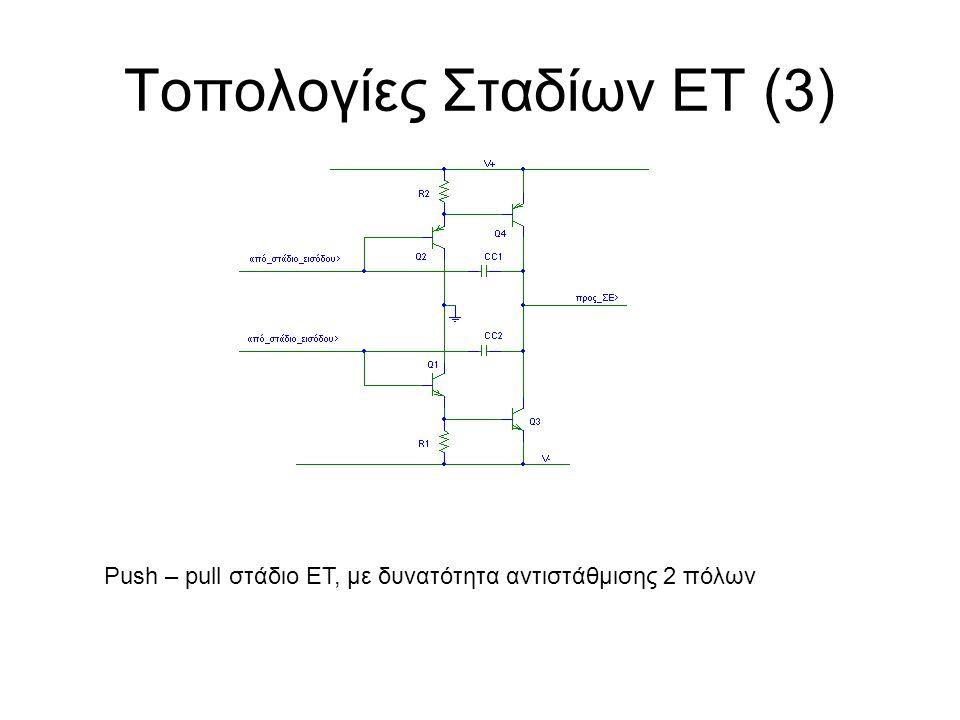 Τοπολογίες Σταδίων ΕΤ (3)