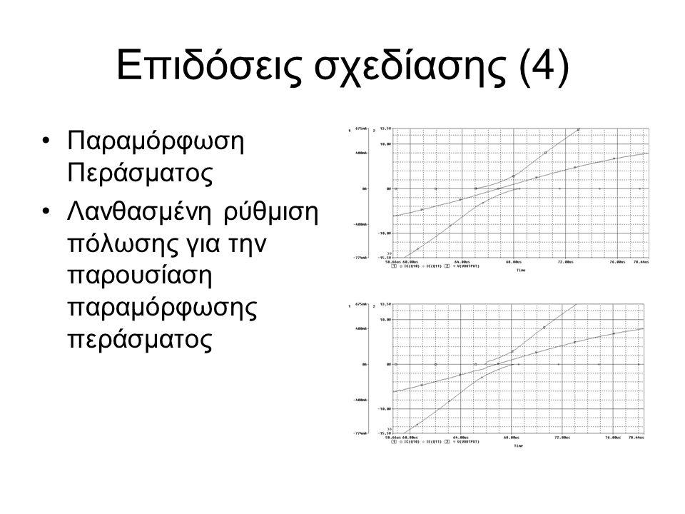 Επιδόσεις σχεδίασης (4)