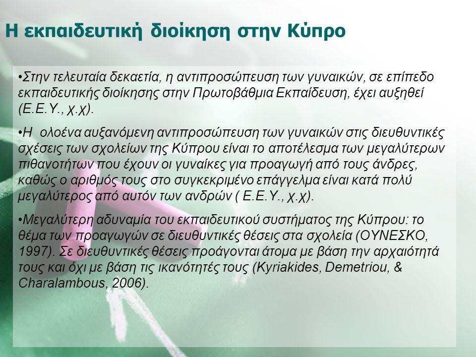 Η εκπαιδευτική διοίκηση στην Κύπρο