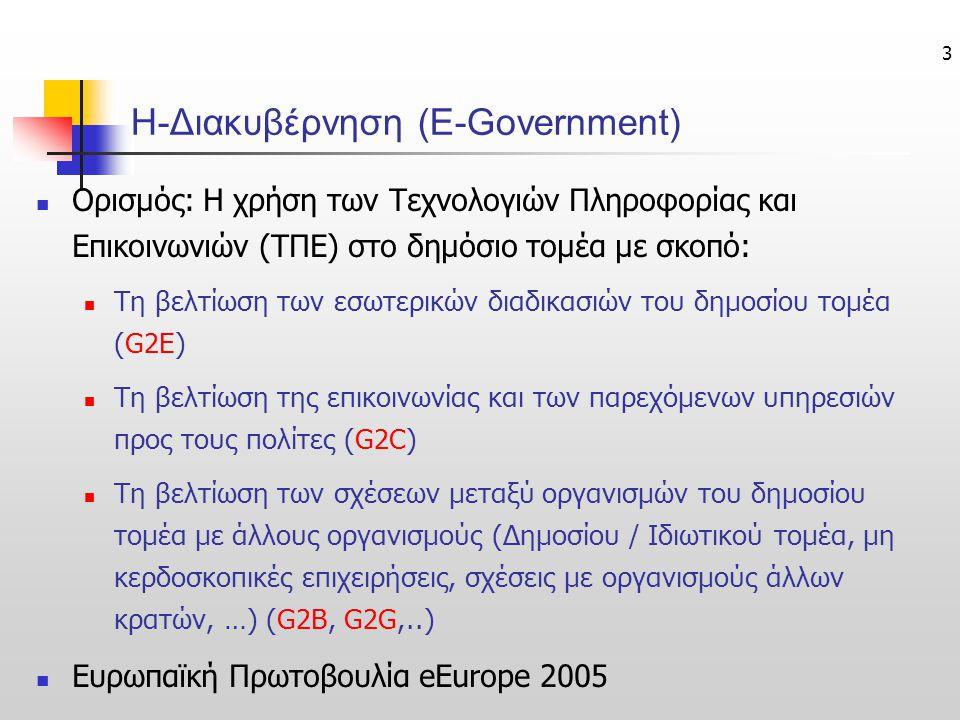Η-Διακυβέρνηση (E-Government)