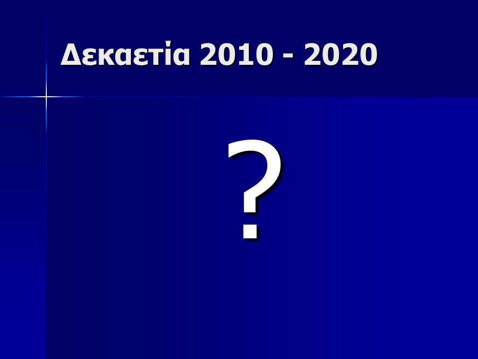 Δεκαετία 2010 - 2020
